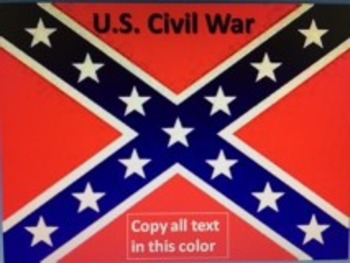 The Complete U.S. Civil War & Reconstruction PowerPoint Unit *Bundle*