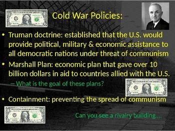 The Complete U.S. History Cold War-Kennedy  (1945-1963) Unit