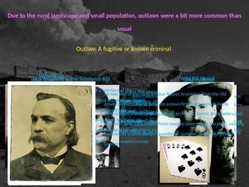 The Complete U.S. Wild West & Frontier Power Point Unit