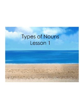 The Complete Unit on Teaching Nouns