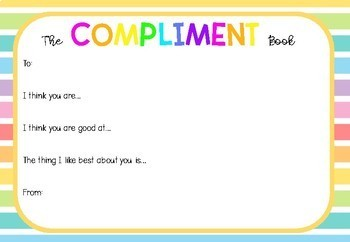 The Compliment Book