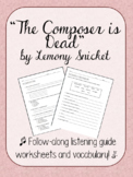 The Composer is Dead Listening Guide and Vocab