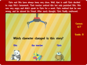 The Comprehension Crane - Reading Center Game (Playable at