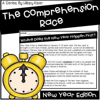 The Comprehension Race: New Year Edition