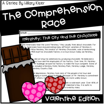 The Comprehension Race: Valentine Edition
