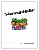 The Comprehensive Sub Plan Binder