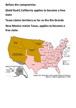 The Compromise of 1850 Handout