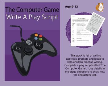 Writing A Play Script & Worksheets | Teachers Pay Teachers