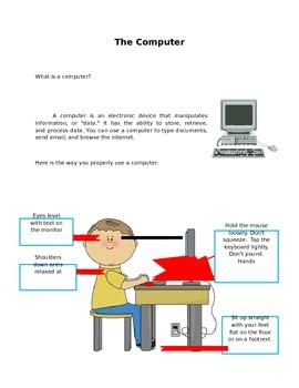 The Computer for 2nd Grade