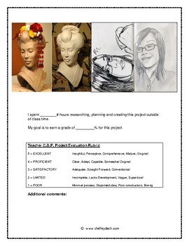 The Conceptual Self Portrait Assignment