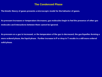 The Condensed Phase Explained - Chemistry Quick Review (Handout & Presentation)