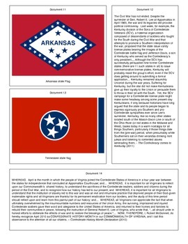 The Confederate Flag: Heritage or Hate (Document Packet) (Update: 07/15)