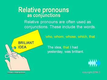 The Conjunction - the grammar series