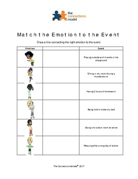 Learning about Emotions:  Match the Emotion to the Event