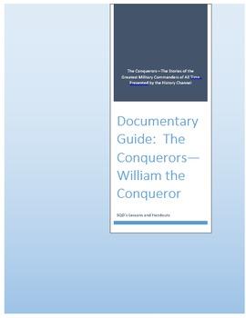 Documentary Guide--The Conquerors, Episode 1:  William the Conqueror