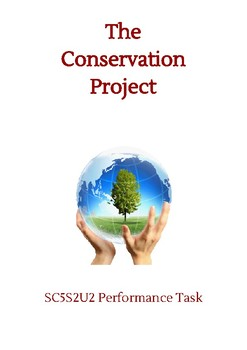 The Conservation Project NGSS Performance Task Grade 5