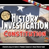 The Constitution Investigation History Lesson Stations & Presentation