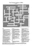 The Constant Gardener - Vocabulary Crossword Puzzle