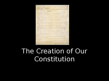 The History of the Constitution