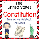The Constitution Interactive Notebook Activities