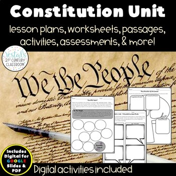 The Constitution {Digital & PDF Included}