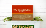 The Constitution-A Blueprint for Government // Chapter 3 U