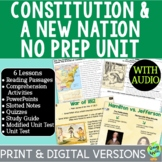 The Constitution & A New Nation Bundle; Distance Learning;