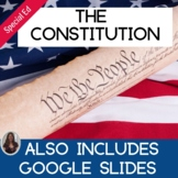 The Constitution & Bill of Rights for Special Ed with comp
