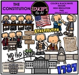 The Constitution Clip Art Bundle {Educlips Clipart}