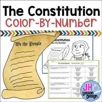 The Constitution Color-By-Number