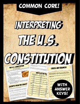 The Constitution Who's Got The Power? Analysis Actvity
