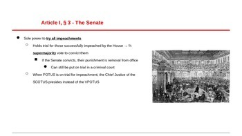 The Constitution Explained - Interactive PowerPoints with Fill-in Notes