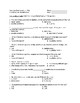The Constitution & Federalism (Unit Test with Study Guide & Answers)
