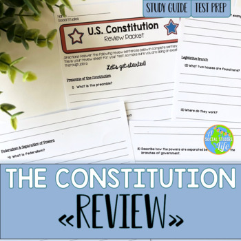 Constitution Review Packet
