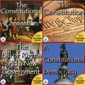 The Constitution Interactive Notebook Bundle