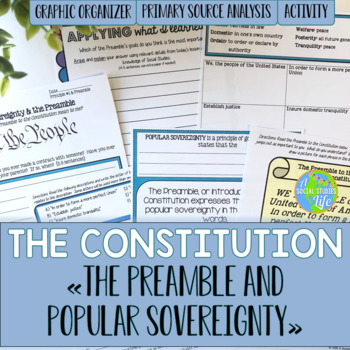 Constitution - Preamble and Popular Sovereignty