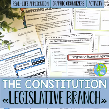 Constitution - Legislative Branch