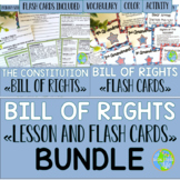 Bill of Rights with BONUS Flash Cards BUNDLE