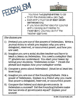 Constitution - Federalism, Delegated, Reserved, and Concurrent Powers