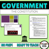 The Constitution Lesson Plan (Powerpoint, Graphic Organize