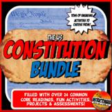 Constitution Complete Unit Activity Bundle Grades 6, 7 and 8 Lesson Plan