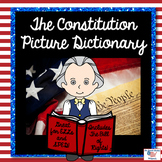 The Constitution and Bill of Rights Picture Dictionary