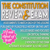 The Constitution Review and Test Critical Thinking