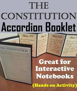 US Constitution Task Cards and Activities Bundle (American Government Unit)