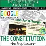 The Constitution, The Bill of Rights, Early US History