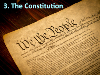 The Constitution (U.S. Government) Bundle with Video