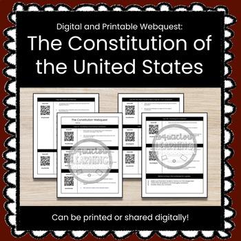 The Constitution Webquest