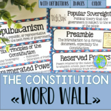 Constitution Word Wall