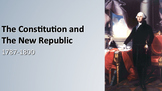 The Constitution and New Republic (Federal) PPT - APUSH New Framework Period 3