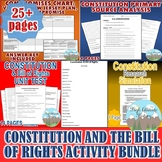 Constitution & Bill of Rights Activity *Bundle* (Government)